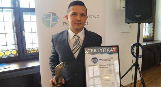 Wręczenie Certyfikatu